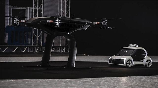 مشروع سيارة الأجرة الطائرة الخاص بأودي يتجه نحو الفشل