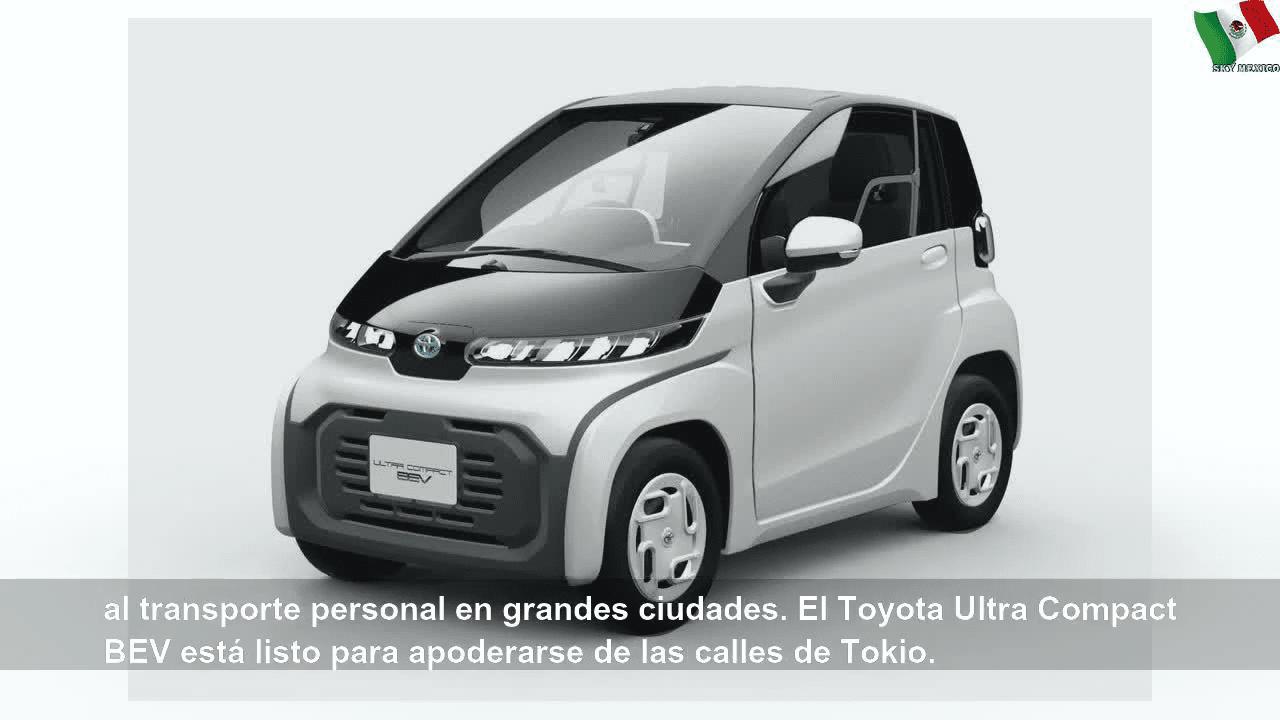 سيارة تويوتا الكهربائية الجديدة بحجم عربة الغولف