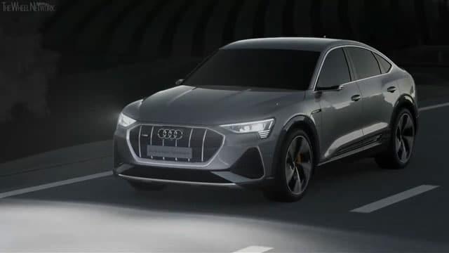 الاعلان عن سيارة Audi E-Tron Sportback 2021