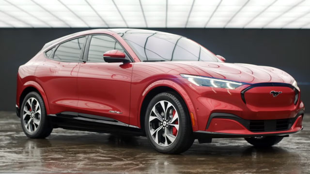 الاعلان عن سيارة فورد موستانغ mach-e 2021