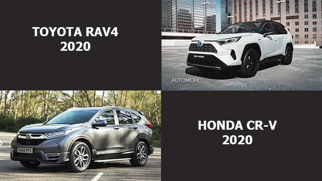 مقارنة بين تويوتا راف 4 2020 و هوندا CR-V 2020