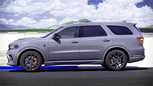 التصميم الخارجي لسيارة دودج دورانجو 2021
