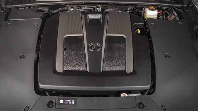 محركاتلكزس LS 2021