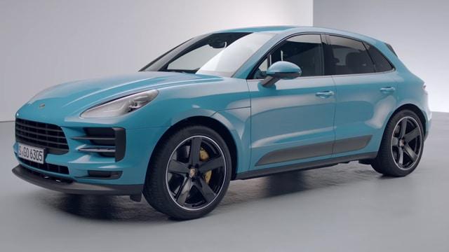 التصميم الخارجي لسيارة بورش ماكان 2021