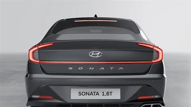 التصميم الخارجي لسيارة هيونداي سوناتا 2022